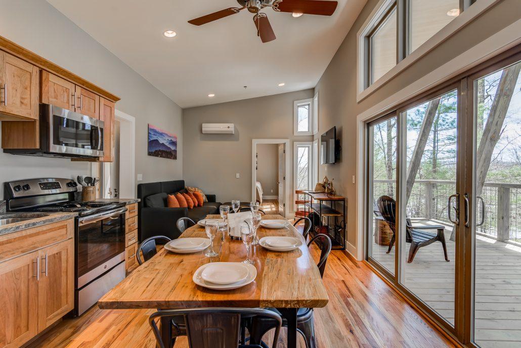 kitchen interior shot