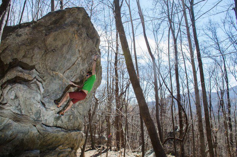 Rock Climbing Guide Brevard Nc And Pisgah National