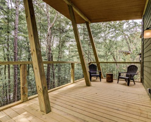 118 Wilderness Trail Rd - balcony