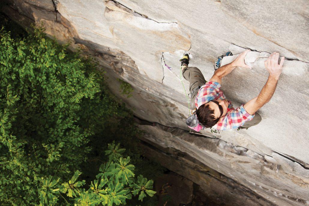 Brevard NC Rock Climbing