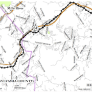 Ecusta Trail Map